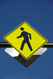 Pedestrian crossing Stock Images