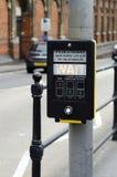 Pedestrian crossing button Stock Photo