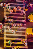 Pedestrian crossing Royalty Free Stock Images