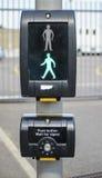 Pedestrian crossing Royalty Free Stock Photo