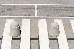 Pedestrian crossing Stock Photos