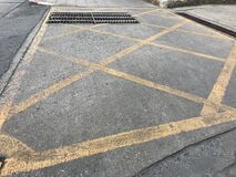 pedestrian crossing road
