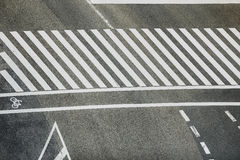 Pedestrian crossing Stock Photos