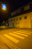 Pedestrian crossing on a road Royalty Free Stock Photography