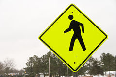 Free Pedestrian Crossing Sign Royalty Free Stock Photography - 12798867