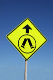 Pedestrian Crossing Sign Royalty Free Stock Photography