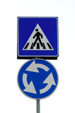 Pedestrian crossing signal Royalty Free Stock Images