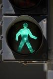 Pedestrian crossing signal in Hong Kong Stock Photos