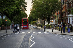 Pedestrian crossing to Abbey Road, London Royalty Free Stock Photos