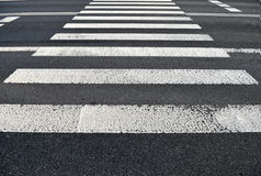 Pedestrian crossing. Transportation Royalty Free Stock Photos