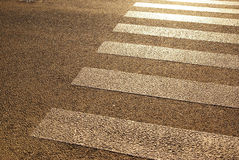 Pedestrian crossing, zebra Royalty Free Stock Photography