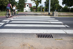 Pedestrian crossing. Royalty Free Stock Photography