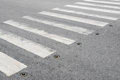 Pedestrian crossing zebra Stock Image