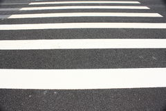 Pedestrian crosswalk Royalty Free Stock Photo