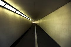 Pedestrian and Cycle Tunnel Royalty Free Stock Photos