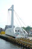 Pedestrian drawbridge Royalty Free Stock Photos