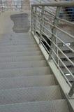 Pedestrian footbridge Stock Images