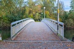 Pedestrian Footbridge Stock Photography