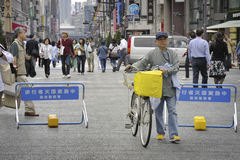 Pedestrian Ginza Royalty Free Stock Photos