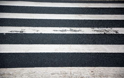 Pedestrian lines Royalty Free Stock Photos
