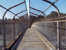 Pedestrian overpass Stock Images