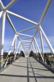 Pedestrian overpass Royalty Free Stock Image