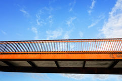 Pedestrian overpass Royalty Free Stock Photo