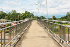 Pedestrian Overpass Stock Photos
