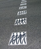 Pedestrian road crossing Stock Photography