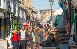 The Lanes, Brighton, England Royalty Free Stock Images