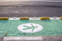 Pedestrian Sign Stock Images
