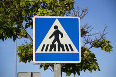 Pedestrian signal Royalty Free Stock Images