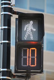 Pedestrian Signal Royalty Free Stock Photos