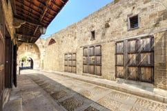 Pedestrian souk, Byblos, Lebanon Royalty Free Stock Photo