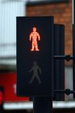 Pedestrian stop light Stock Image