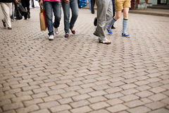 Pedestrian street Royalty Free Stock Photography