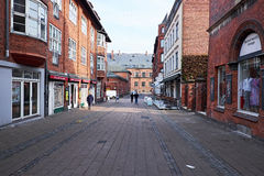 Pedestrian street area elsinore Royalty Free Stock Image