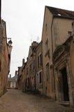 Pedestrian street - Châteaudun - France Stock Image