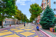Pedestrian street Royalty Free Stock Photos