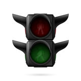 Pedestrian traffic light Stock Photos