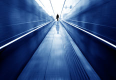 Pedestrian tunnel Royalty Free Stock Image