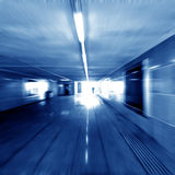 Pedestrian tunnel Stock Images
