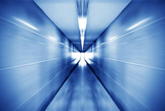 Pedestrian tunnel Stock Photo