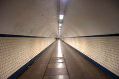 Pedestrian tunnel Stock Photos