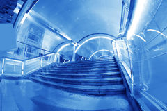 Pedestrian tunnel Stock Photography