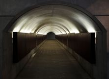 Pedestrian tunnel Royalty Free Stock Images
