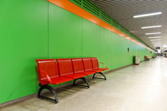 Pedestrian Underpass 2. A brightly colored pedestrian underpass Stock Image