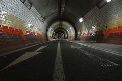 Pedestrian underpass Royalty Free Stock Photography