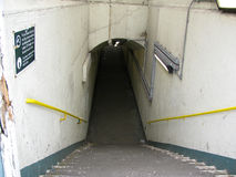 Pedestrian underpass Stock Images