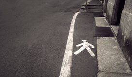 Pedestrian walkway Stock Photo